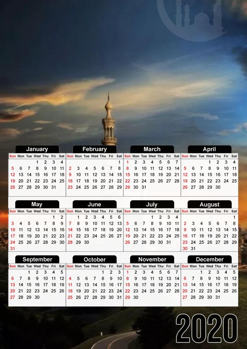 Ramadan 2022 Calendrier Calendrier Ramadan Kareem Mubarak 30x43cm format A3