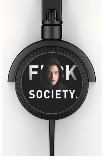 casque audio Mr Robot Fuck Society
