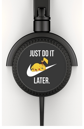 casque audio Nike Parody Just Do it Later X Pikachu