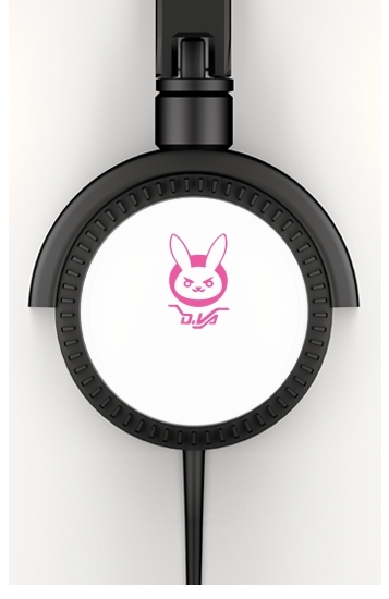 casque audio Overwatch D.Va Bunny Tribute Lapin Rose