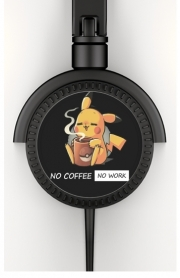 casque audio Pikachu Coffee Addict