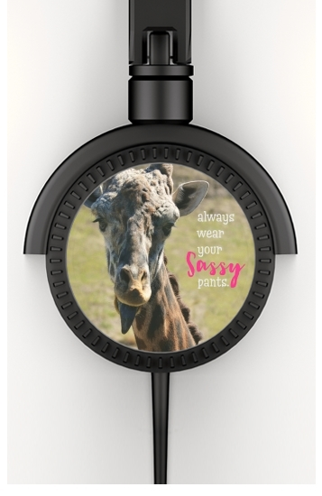 casque audio Sassy Pants Giraffe