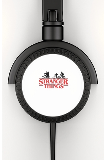 casque audio Stranger Things by bike