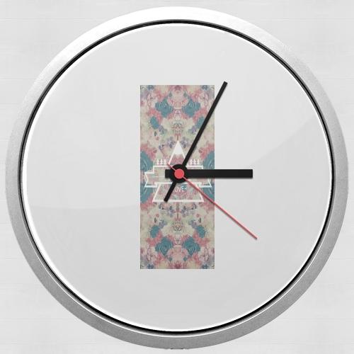 horloge fall love murale personnalis e. Black Bedroom Furniture Sets. Home Design Ideas