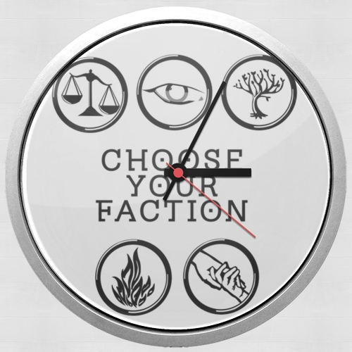 horloge Keep Calm Divergent Faction