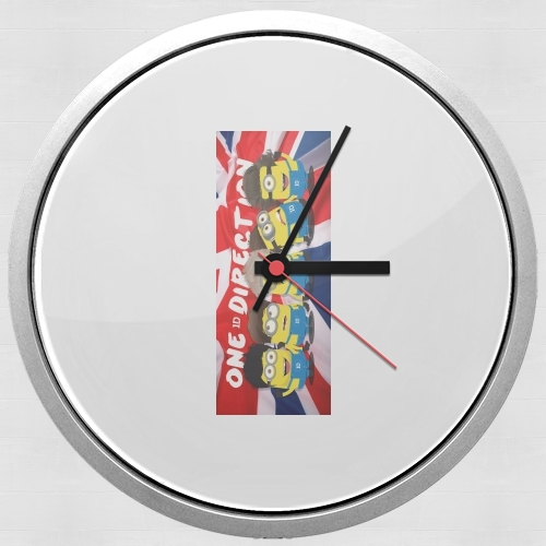 horloge Minions mashup One Direction 1D