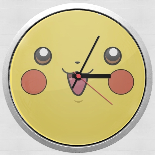 Horloge pika pika murale personnalis e - Horloge murale personnalisable ...
