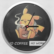 horloge Pikachu Coffee Addict