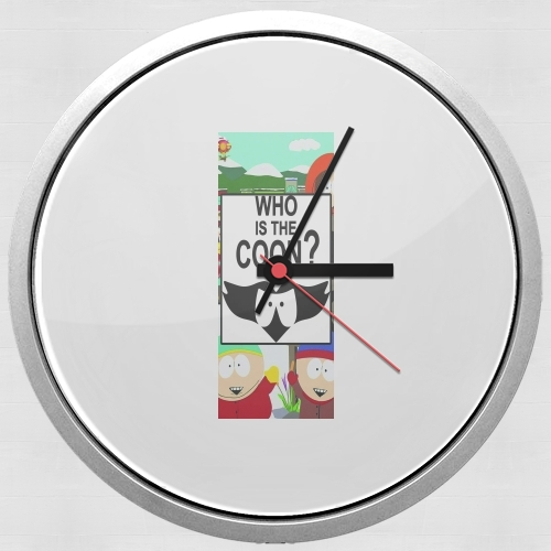 horloge Who is the Coon ? Tribute South Park cartman