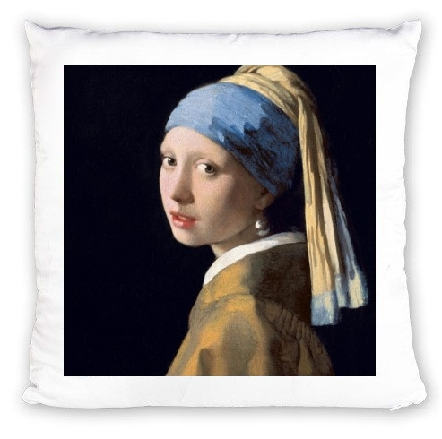 Coussin Girl with a Pearl Earring
