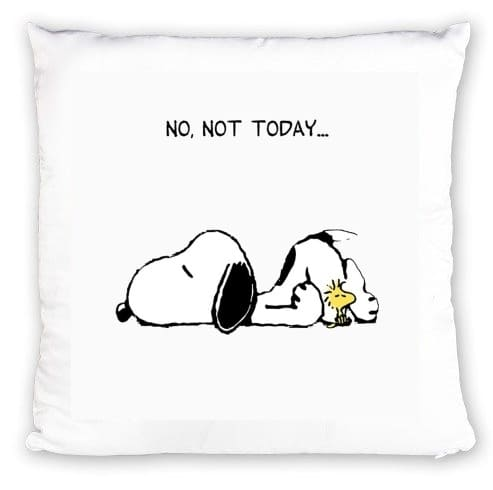 Coussin Snoopy No Not Today