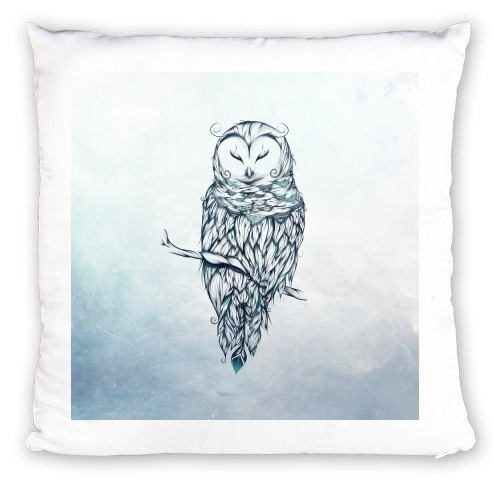 Coussin Snow Owl