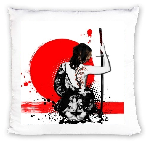 Coussin Trash Polka - Female Samurai