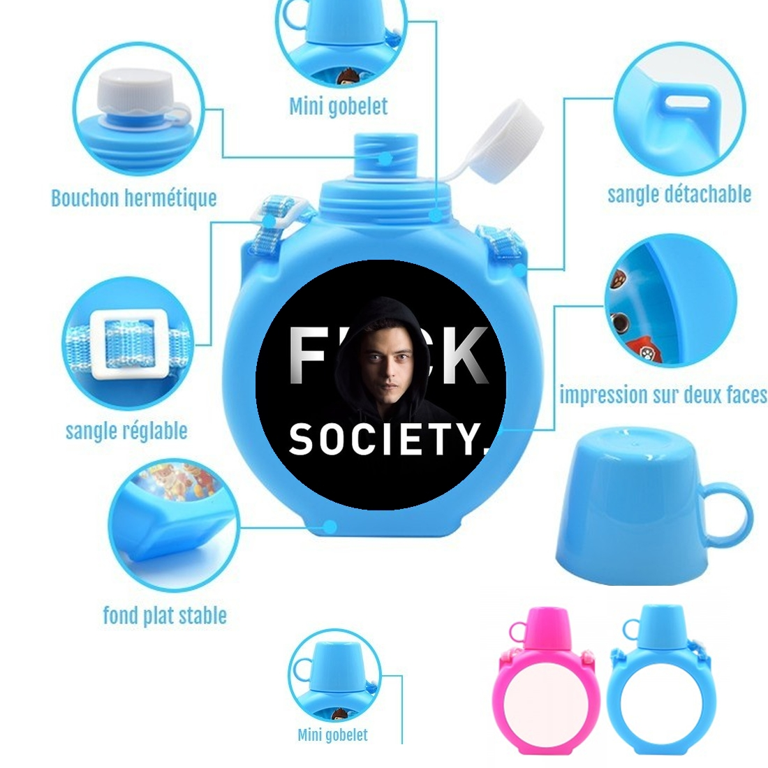 gourde Mr Robot Fuck Society