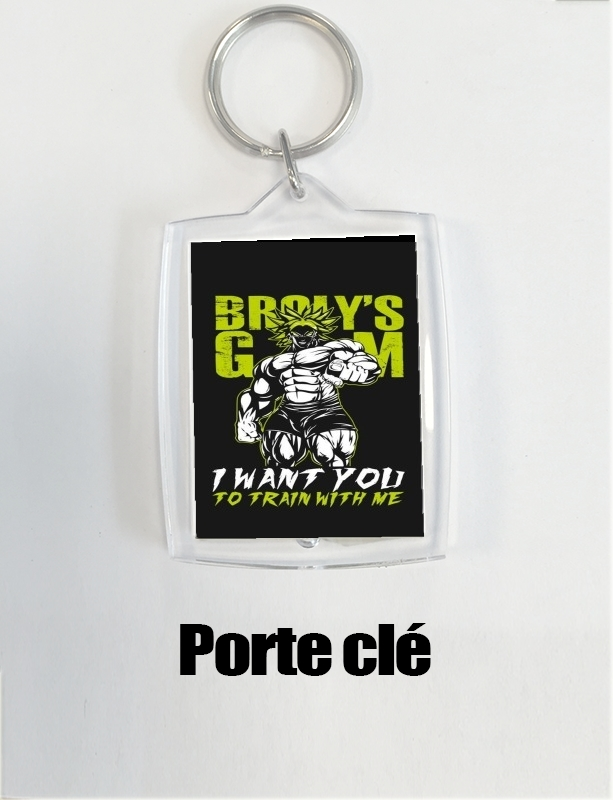 porte clé Broly Training Gym