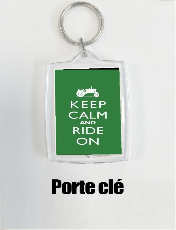 FARMER Personnalisé Keep Calm trousseau