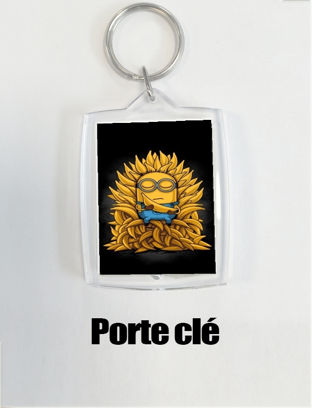 porte clé Minion Throne