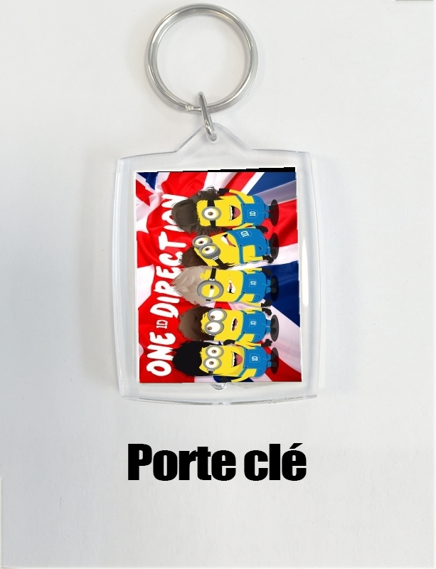 porte clé Minions mashup One Direction 1D