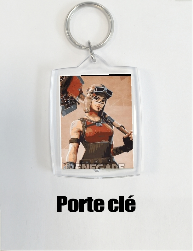 Porte Renegade Skin Fortnite Art