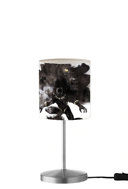 lampe Black Panther Abstract Art WaKanda Forever