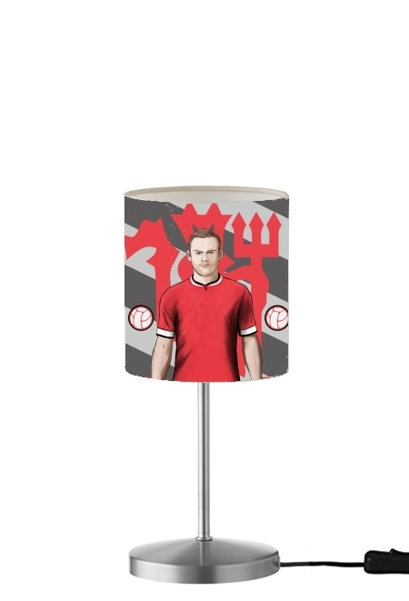 lampe Football Stars: Red Devil Rooney ManU
