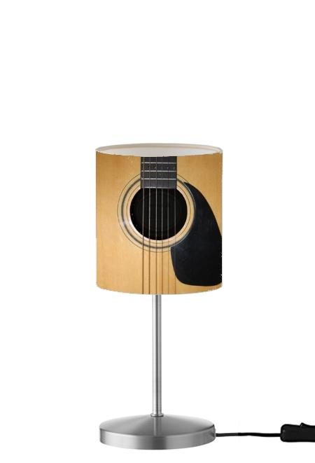 Lampe de table chevet Guitare
