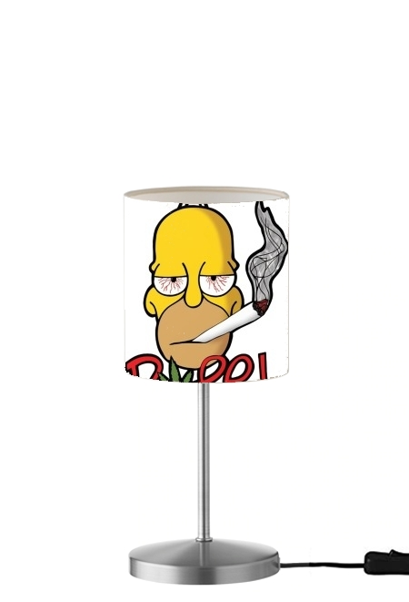 lampe Homer Dope Weed Smoking Cannabis