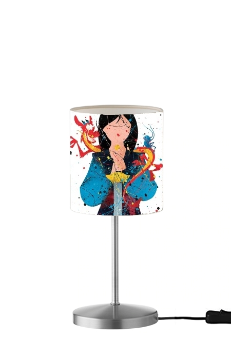 Lampe Mulan Princess Watercolor Decor