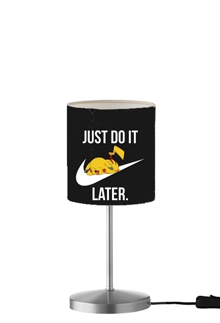 lampe Nike Parody Just Do it Later X Pikachu