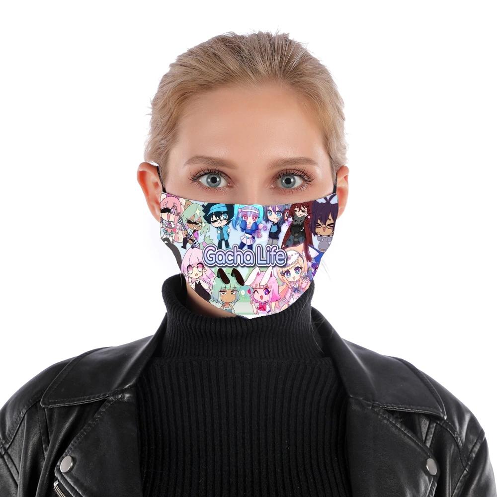 Masque Alternatif Gacha Life En Tissu