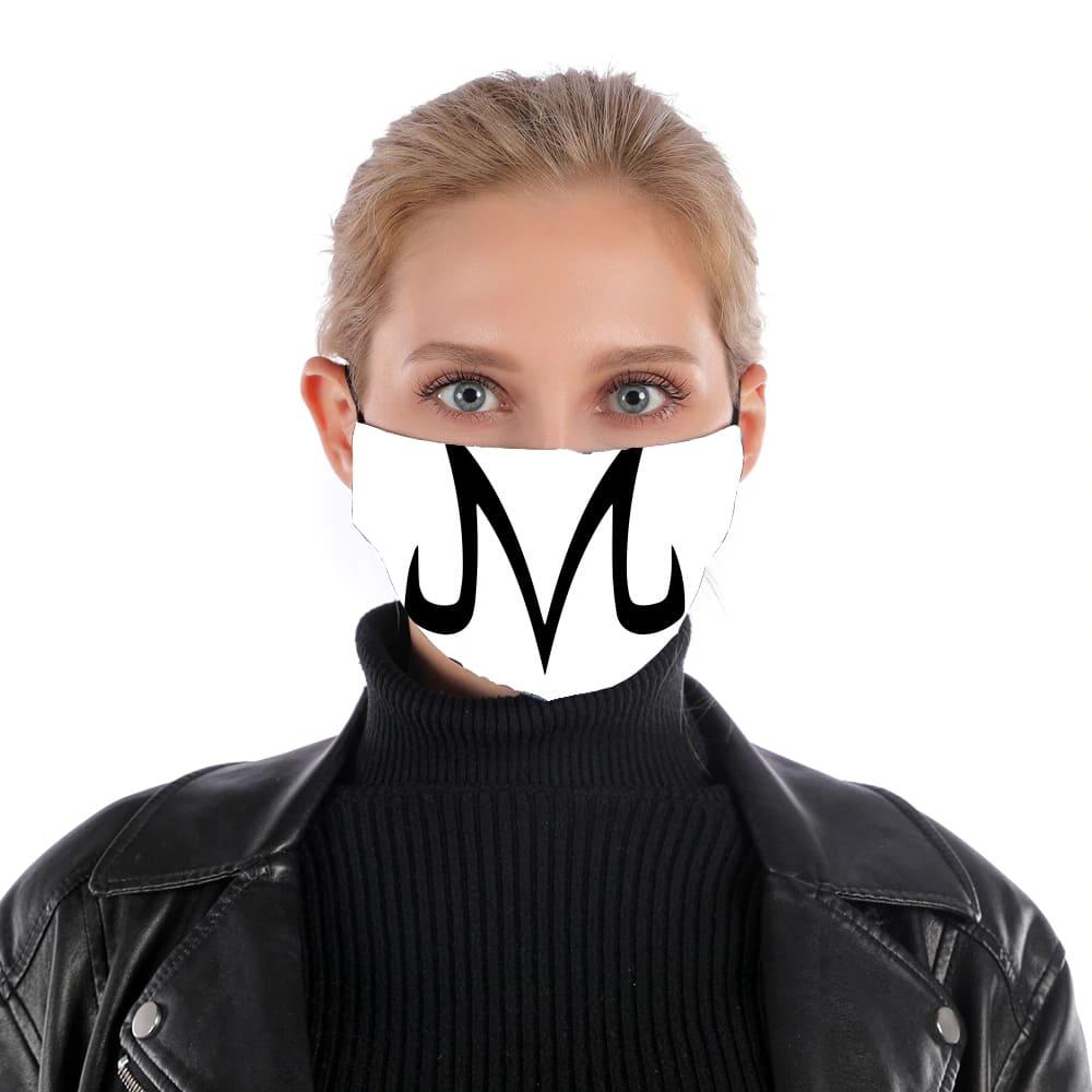Masque Alternatif Majin Vegeta Super Sayen En Tissu