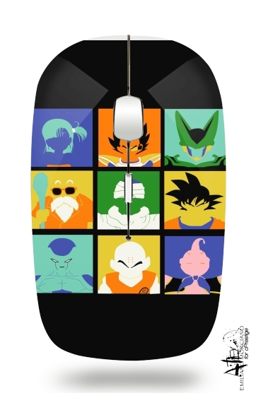 souris sans fil Dragon pop