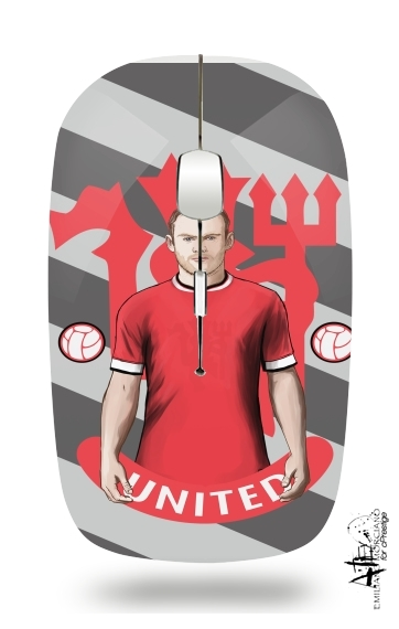souris sans fil Football Stars: Red Devil Rooney ManU