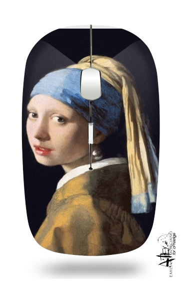souris sans fil Girl with a Pearl Earring