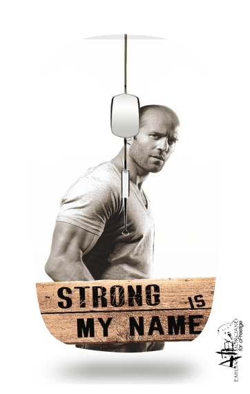 souris sans fil Jason statham Strong is my name