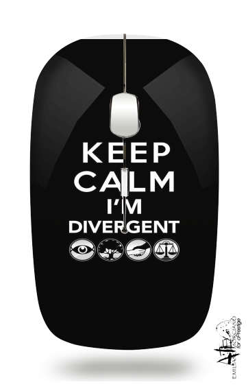 souris sans fil Keep Calm Divergent Faction