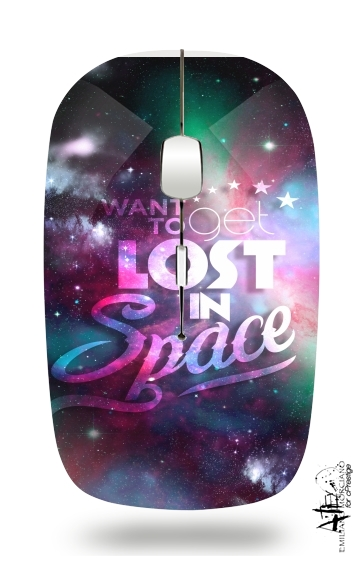 souris sans fil Lost in space