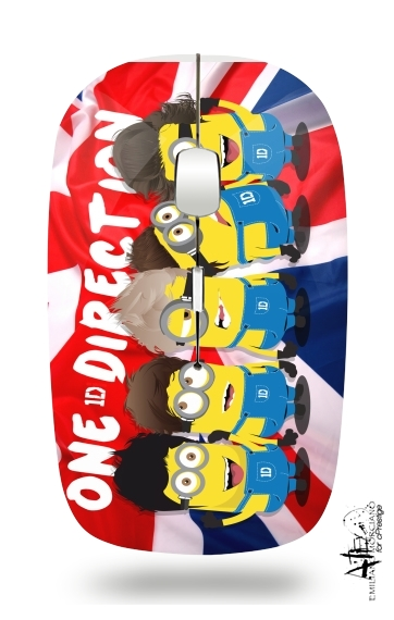 souris sans fil Minions mashup One Direction 1D