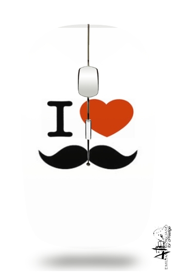 Souris I Love Moustache