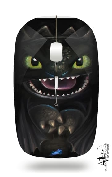souris sans fil Night fury