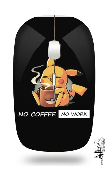 Souris Pikachu Coffee Addict