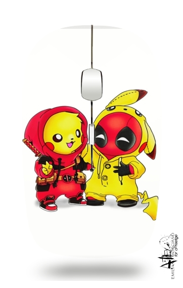 Coque Pikachu X Deadpool Pour Téléphone Portable