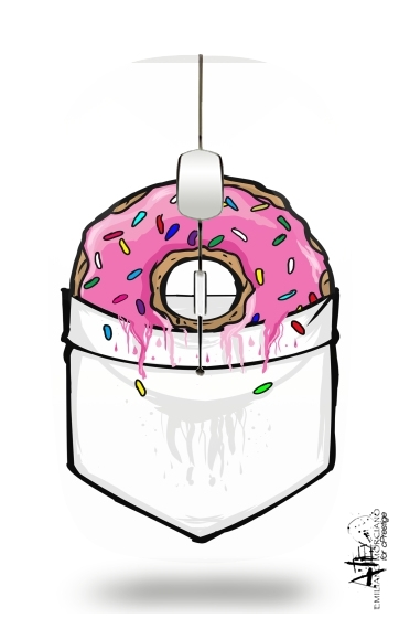 souris sans fil Pocket Collection: Donut Springfield