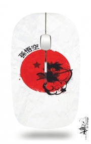souris sans fil Red Sun Young Monkey