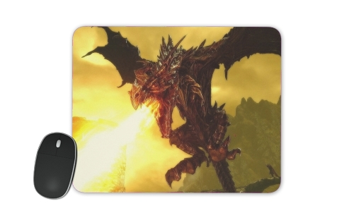 tapis de souris Aldouin Fire A dragon is born
