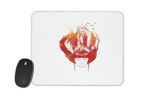 tapis de souris Burning Forest
