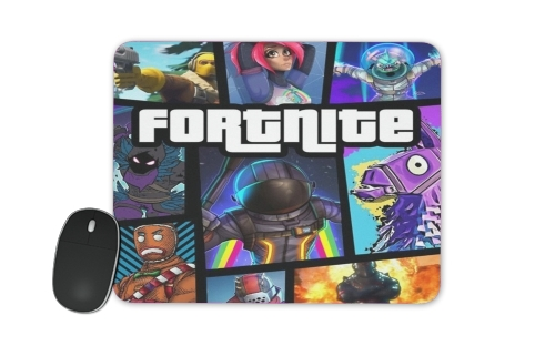 tapis de souris Fortnite - Battle Royale Art Feat GTA