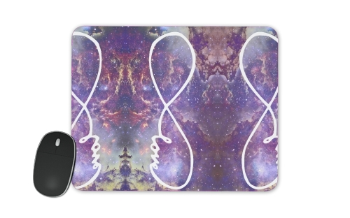 tapis de souris Infinity Love Galaxy