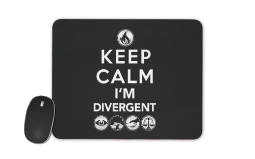 tapis de souris Keep Calm Divergent Faction