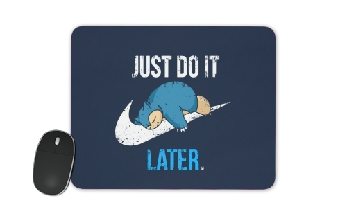 tapis de souris Nike Parody Just do it Late X Ronflex